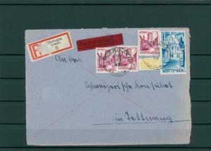 FRZ.ZONE WUERTTEMBERG 1949 Brief siehe Beschreibung (203962)