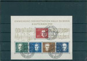 BUND 1959 Bl.2 gestempelt (203985)