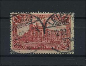 DEUTSCHES REICH 1902 Nr 78B gestempelt (118081)