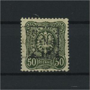DEUTSCHES REICH 1880 Nr 44ba gestempelt (118086)