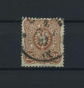 DEUTSCHES REICH 1880 Nr 43c gestempelt (118094)
