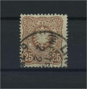 DEUTSCHES REICH 1880 Nr 43ca gestempelt (118095)