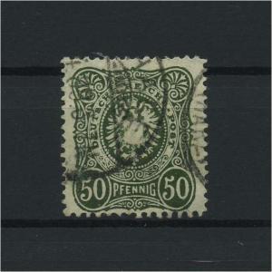 DEUTSCHES REICH 1880 Nr 44ba gestempelt (118096)
