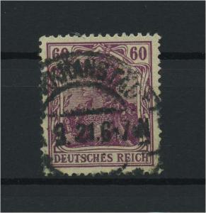DEUTSCHES REICH 1915 Nr 92IIa gestempelt (118102)