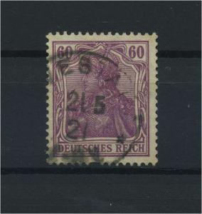DEUTSCHES REICH 1915 Nr 92IIa gestempelt (118104)