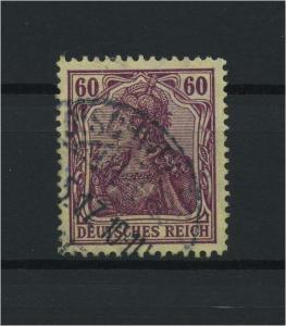 DEUTSCHES REICH 1915 Nr 92IIa gestempelt (118105)