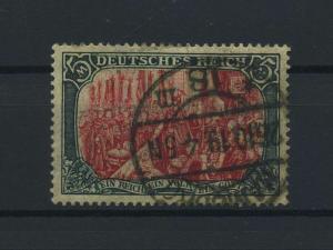 DEUTSCHES REICH 1905 Nr 97AIb gestempelt (118110)