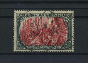 DEUTSCHES REICH 1905 Nr 97AIb gestempelt (118111)