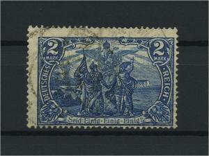 DEUTSCHES REICH 1905 Nr 95AII gestempelt (118115)