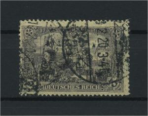 DEUTSCHES REICH 1905 Nr 96BIIb gestempelt (118118)