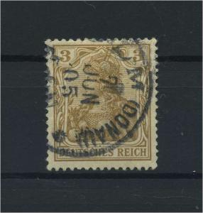 DEUTSCHES REICH 1902 Nr 69b gestempelt (118120)