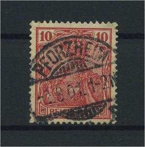 DEUTSCHES REICH 1915 Nr 56b gestempelt (118124)