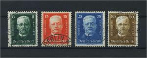 DEUTSCHES REICH 1927 Nr 403-406 gestempelt (118158)