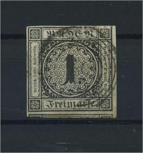 BADEN 1853 Nr 5 gestempelt (118224)