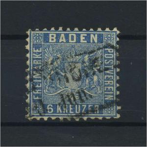BADEN 1862 Nr 14 gestempelt (118235)