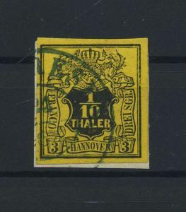 HANNOVER 1851 Nr 5 gestempelt (118241)