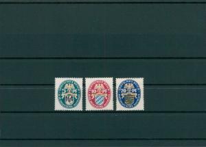 DEUTSCHES REICH 1925 Nr 375-377 postfrisch (204081)