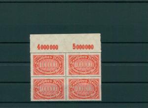 DEUTSCHES REICH 1923 Nr 257 III postfrisch (204120)