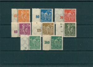 DEUTSCHES REICH 1923 Nr 238-244 postfrisch (204122)