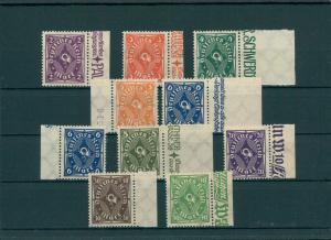 DEUTSCHES REICH 1923 Nr 224-232 postfrisch (204124)