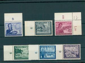 DEUTSCHES REICH 1944 Nr 888-893 postfrisch (204133)