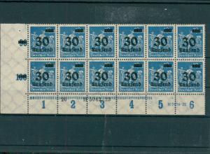DEUTSCHES REICH 1923 Nr 284 postfrisch (204139)