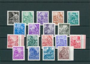 DDR 1953 Nr 362-379 postfrisch (204242)