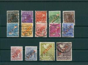BERLIN 1948 Nr 21-34 gestempelt (204255)