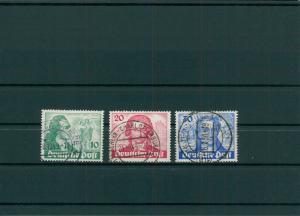 BERLIN 1949 Nr 61-63 gestempelt (204258)