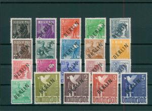 BERLIN 1948 Nr 1-20 postfrisch (204260)