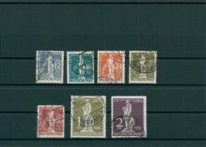 BERLIN 1949 Nr 35-41 gestempelt (204263)