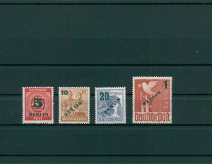 BERLIN 1949 Nr 64-67 postfrisch (204265)