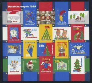 NIEDERLANDE 1999 Nr 1753-1772 postfrisch (700905)