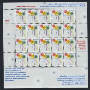 NIEDERLANDE 1988 Nr 1356 postfrisch (700912)