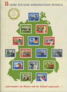 DDR 1964 Bl.19 postfrisch (700937)