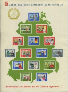 DDR 1964 Bl.19 postfrisch (700938)