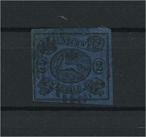 BRAUNSCHWEIG 1853 Nr 7 gestempelt (118315)