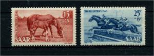 SAARLAND 1949 Nr 265-266 postfrisch (108375)
