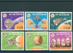 ECUADOR 1966 Nr 1190-1195 postfrisch (200539)
