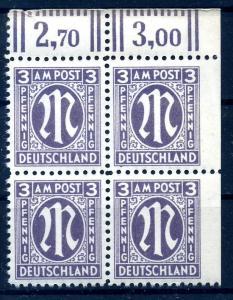 BIZONE 1945 Nr 17A Ur postfrisch (108963)