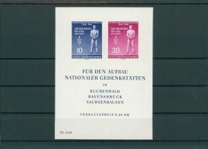 DDR 1955 Bl.11 postfrisch (203825)