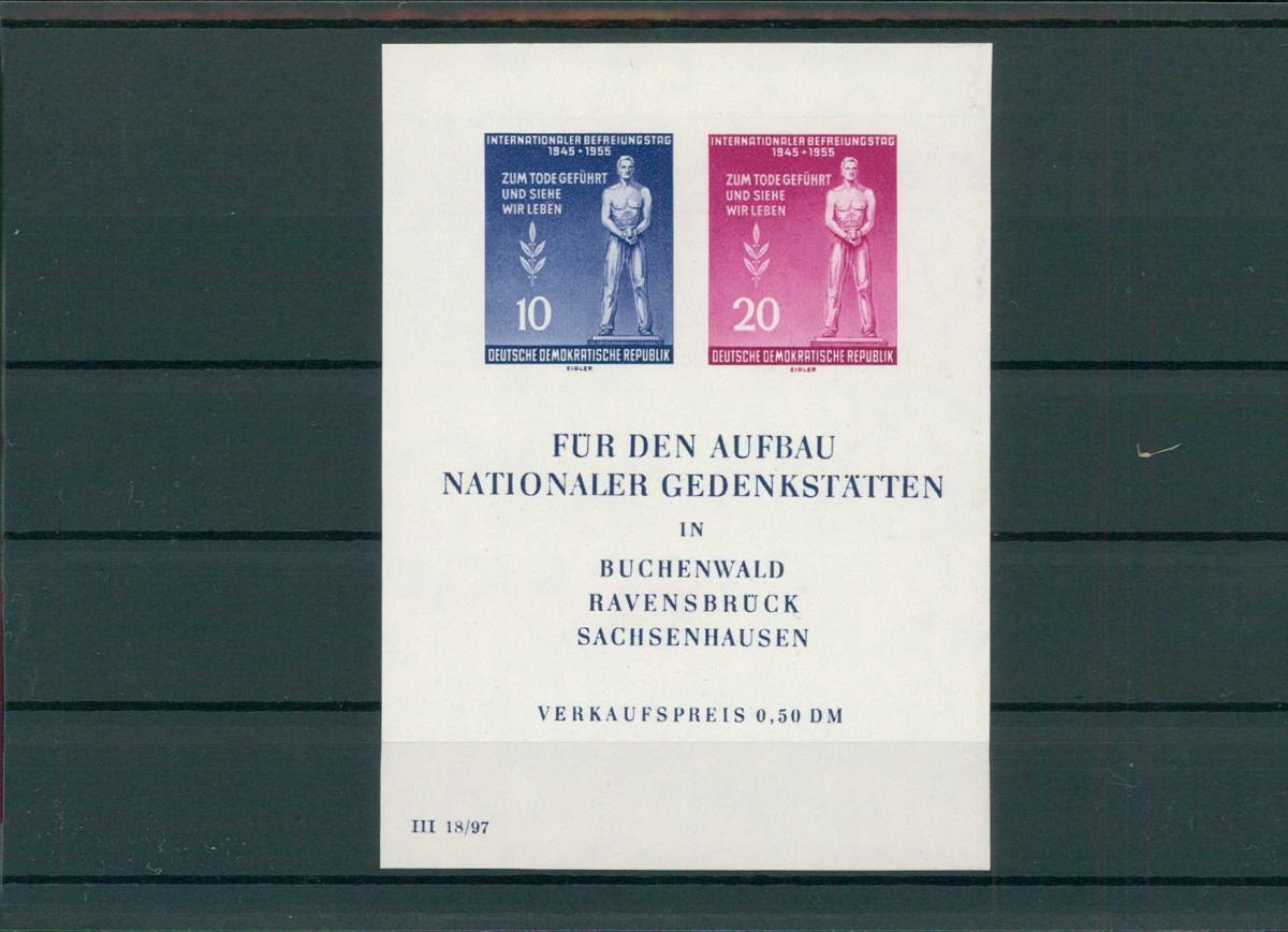 DDR 1955 Bl.11 postfrisch (203826) 0