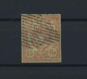 SCHWEIZ 1852 Nr 12 gestempelt (118546)