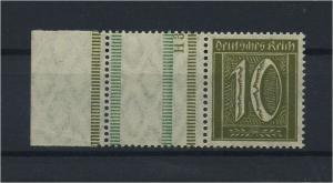 DEUTSCHES REICH 1921 ZD Nr RL13 postfrisch (118859)