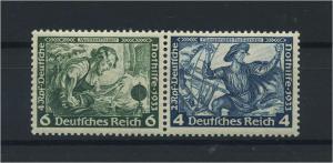 DEUTSCHES REICH 1933 ZD Nr W47 postfrisch (118646)