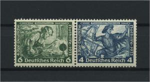 DEUTSCHES REICH 1933 ZD Nr W47 postfrisch (118702)