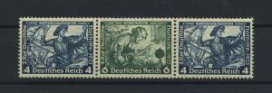 DEUTSCHES REICH 1933 ZD Nr W50 postfrisch (118855)