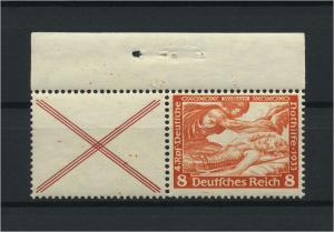 DEUTSCHES REICH 1933 ZD Nr W51 postfrisch (118647)