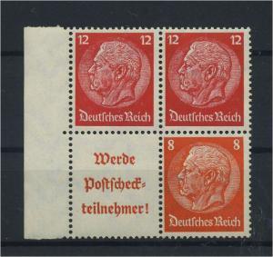 DEUTSCHES REICH 1939 ZD Nr S197+S199 postfrisch (118717)