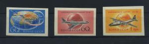 SOWJETUNION 1958 Nr 2106-2108B postfrisch (119151)
